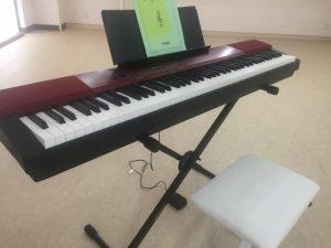 高円寺レンタルスタジオの電子ピアノ
